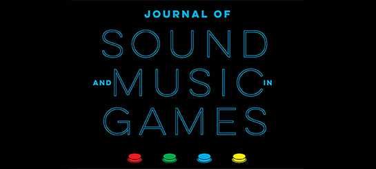 Journal of Sound and Music in Games